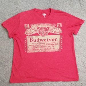🐵 Budweiser graphic tee, shirt size Xlarge.